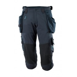 Pantalon 3/4 stretch Poches Holster