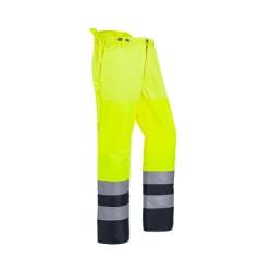Pantalon débrousaillage HV EN ISO 20471 CLASSE 2