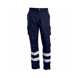 Pantalon service bandes réfléchissantes